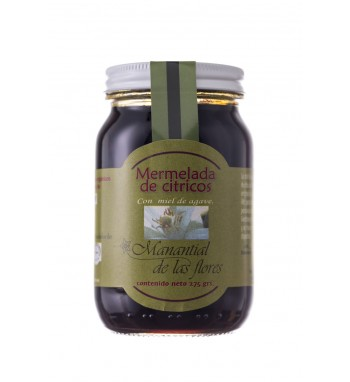 Mermelada de citricos con miel de agave