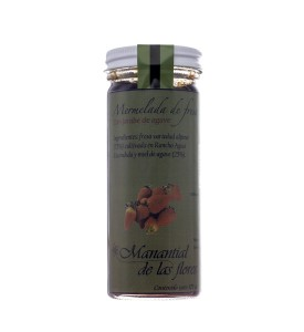 Mermelada de fresa con miel de agave