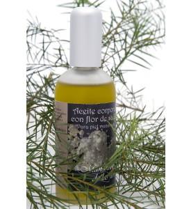 Aceite corporal de flor de saúco