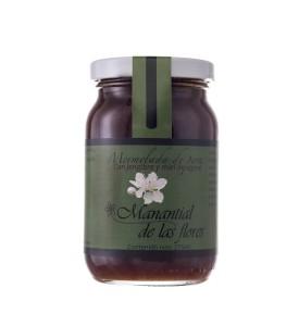 Mermelada de pera y jengibre con miel de agave