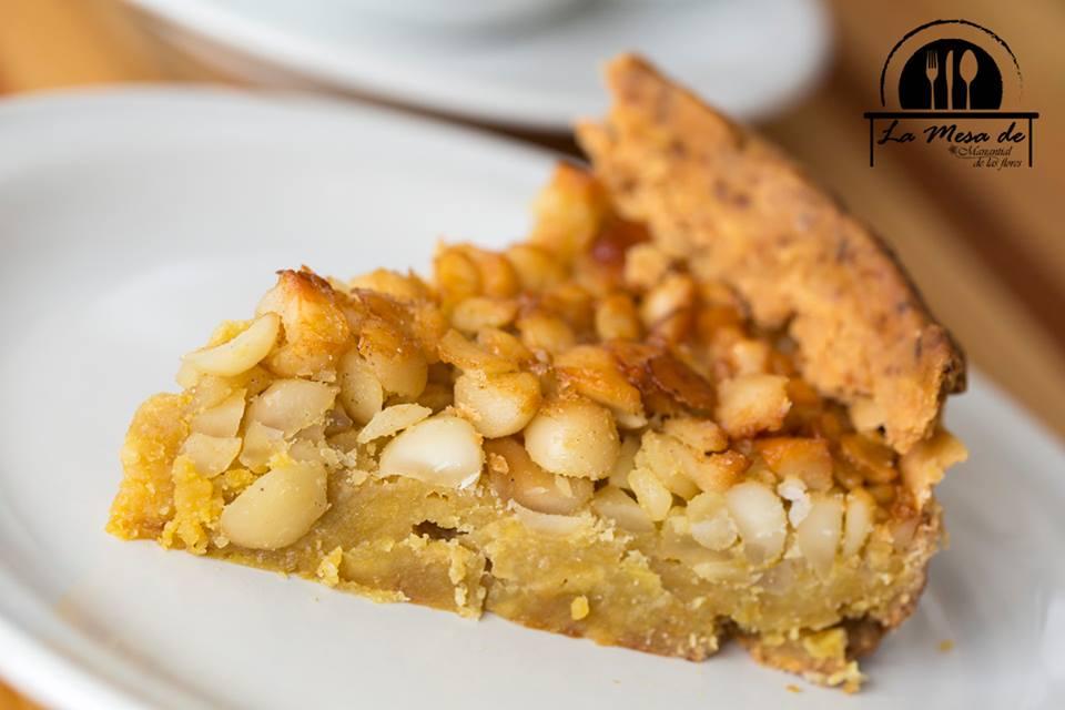 Tarta de macadamia